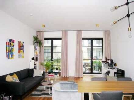"""""""A SPACE"""" in BERLIN-MITTE: Exclusive ground floor loft with high-quality furnishing & terrace...."""