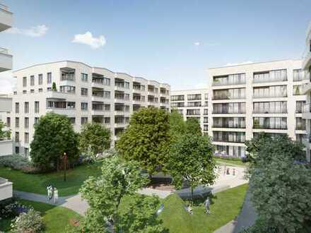 MODERNE WOHNOASE! 2-Zi.-Erdgeschosswohnung auf ca. 59 m² mit herrlicher Terrasse & Gartenanteil
