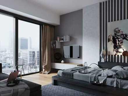 Im Herzen der Skyline! Hochmodernes 1-Zimmer-Apartment in Premiumlage