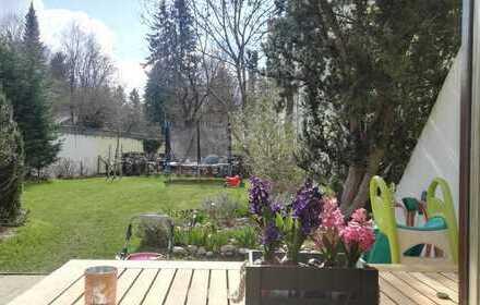 Wunderschöne, sanierte 4-Zimmer-Maisonette-Wohnung mit Süd-Garten, eigenem Zugang *Provisionsfrei*