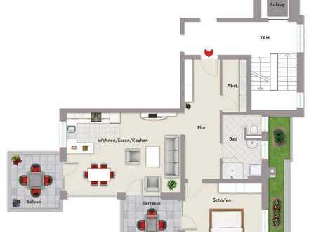 Wohnen in Frittlingen: 2,5 Zimmer Neubauwohnung
