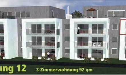 Großzügige 3,5 Zi.-Neubau-Wohnung mit Balkon auf der Sonnenseite WHG_12 direkt am Waldrand