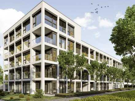 Erstbezug: exklusive 4-Zimmer-Wohnung mit Einbauküche und Balkon in Karlsruhe