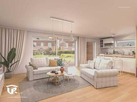 Moderne 3-Zimmerwohnung mit Garten und Terrasse