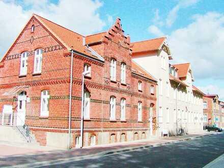 Grabow: Warmmiete ab etwa 6,65 €/m², 1-, 2- und 3-Raum-Wohnungen, zwischen 26 m² und 60 m²