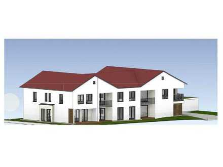 Spitzen NEUBAU 2-Zimmer-OG-Wohnung Nr. 4 in Gerolsbach / Nähe S2 Petershausen zu verkaufen!