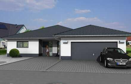Bungalow in Verberg (freistehend) - Individuell planbar! ! 140m²/FBH/Wärmepumpe