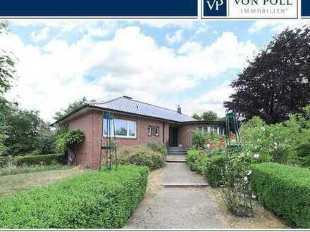 Großzügiges Einfamilienhaus mit Weitblick ins Grüne