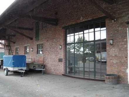Gewerbehalle inkl. Ausstellungsraum auf Bauernhof zu vermieten