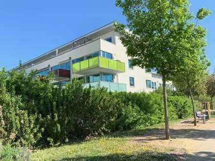 Stilvolle, gepflegte 3,5-Zimmer-Maisonette-Wohnung mit zwei Balkonen in Hattersheim am Main