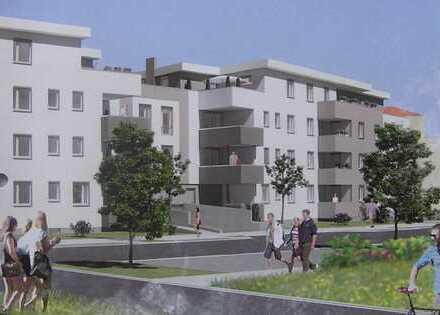 Attraktive Neubau-2-Zimmerwohnung mit Tageslichtbad, Fußbodenheizung und Balkon in LU Melm