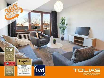 Top in Form: Seniorengerechte 2-Zimmer-Wohnung mit Balkon, TG-Stellplatz und Aufzug.