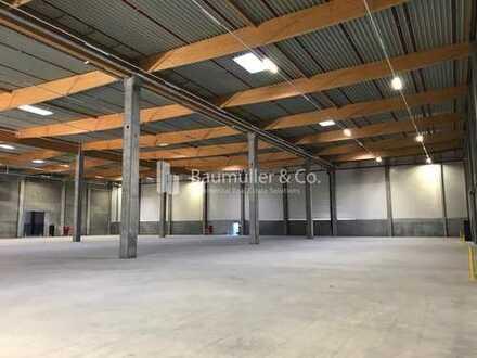 """""""BAUMÜLLER & CO."""" - Rampenlager-Neubau - 5.000 m² Logistikfläche - direkt an BAB 6"""