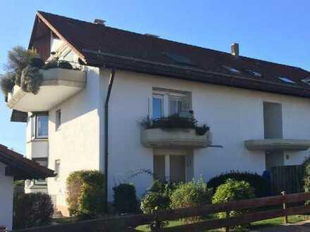 Helle 3 Zimmer-Wohnung in Dietmannsried mit zwei Balkonen u. Garagenstellplatz in kleiner Wohnanlage