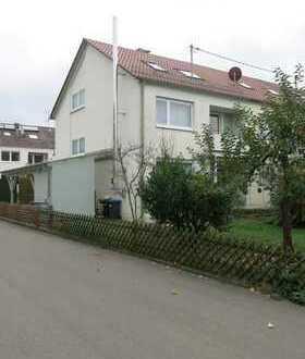 Viel Platz für die ganze Familie: Gepflegtes Reiheneckhaus mit Garten in Weilheim!