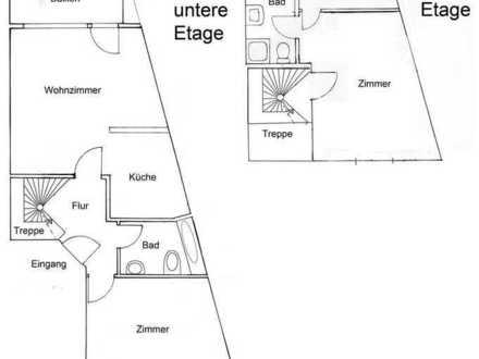 Erstbezug nach Sanierung mit Balkon: attraktive 3-Zimmer-Wohnung in Hardenbergstraße, Leverkusen