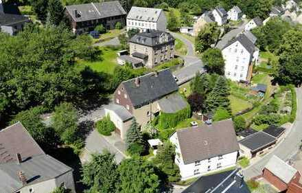 Großes Ein-/Zweifamilienhaus mit herrlichem Garten in ländlicher Idylle aber nur 30 min bis Chemnitz