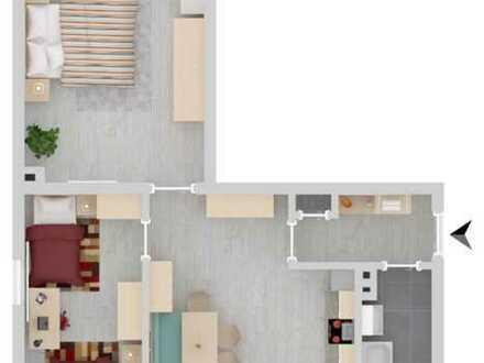 Helle freundliche 3 Zimmer-Wohnung mit Balkon in DO-Lütgendortmund/BO-Langendreer