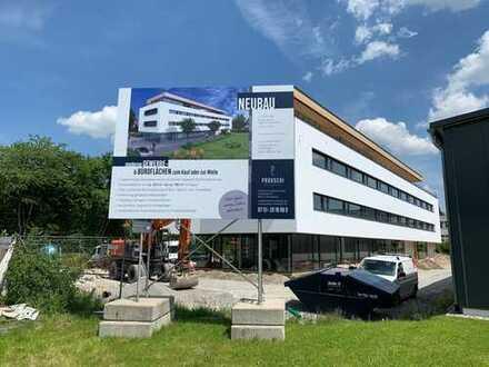 Neubau-Erstbezug: Gewerbeflächen in werbewirksamer Lage von Weingarten