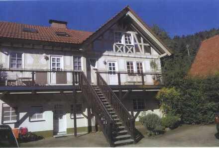 Schöne, idyllisch gelegene fünf Zimmer Maisonettewohnung in Neckarsteinach