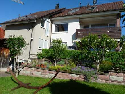 Schöne, helle 5-Zi.-Wohnung in ruhiger Ortsrandlage von OG-Zell-Weierbach