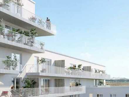 Wohnen am Tor zur Stadt! 2-Zimmer-Wohnung mit optimalem Grundriss und Loggia in Germering