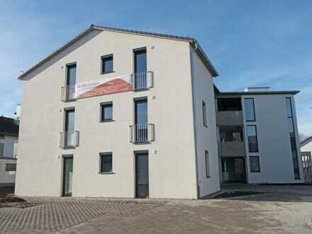 NEUES WOHNEN BEIM HALLENBAD! 3-Zi.-Wohnung mit 14 m²-Süd-Balkon in Weingarten