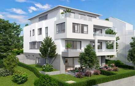 5 Zimmer-Maisonette-Gartenwohnung mit Terrasse und Balkon