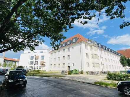 WG-Wohnung: 2 Zimmer Altbau, neue Küche, tolle Lage auf der Bult