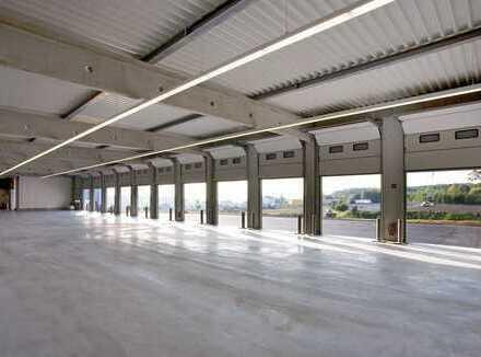 """BAUMÜLLER & CO."" - 20.000 m² Hallenfläche - hochwertiger Logistik-Neubau"