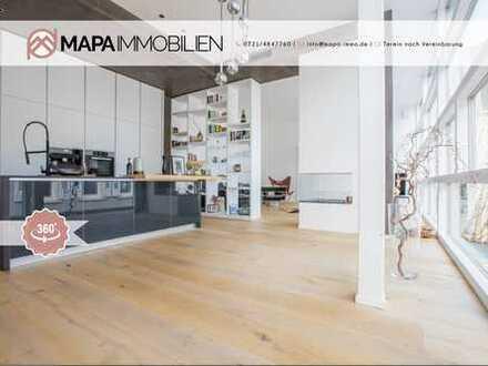 Exklusives Designer-Loft in Top-Lage an der Lichtentaler Allee (mit 360°-Rundgang)