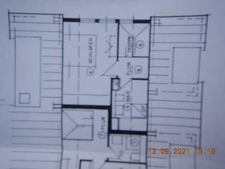 Gepflegte 3 Zimmer-Maisonettewohnung mit Balkon und Einbauküche in Laichingen