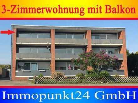***3-Zimmerwohnung mit Balkon***