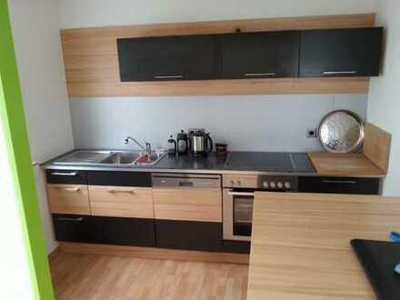 Gepflegte 3-Zimmer-Maisonette-Wohnung mit Süd-Balkon und Einbauküche in Konstanz
