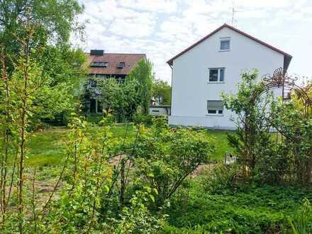 Sonnige 3-Zimmer-Wohnung mit EBK, Terrasse und Gartenanteil