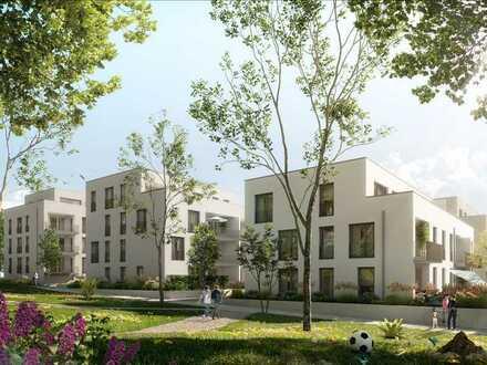Helle und familienfreundliche 3-Zi.-Wohnung mit großem Garten und Südausrichtung im tollen Haus 4