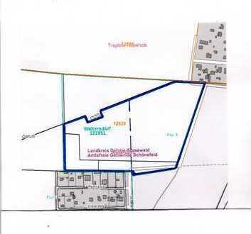 Schönefeld - Waltersdorf - 60712 m² Gewerbegrundstück und Landwirtschaftliche Nutzfläche