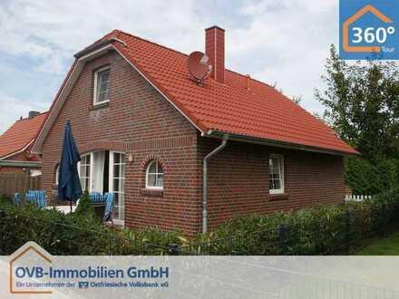 Modernes, gemütliches Wohnhaus mit Kaminofen - ganz in der Nähe der Greetsieler Zwillingsmühlen