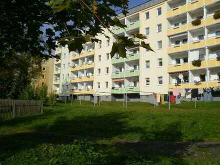 Blick ins Grüne, 3-Raum-Wohnung mit Balkon