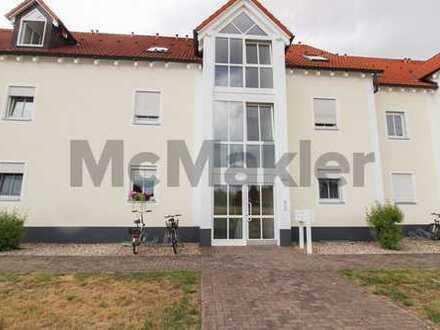 Solide Kapitalanlage: Vermietete 2-Zimmer-Erdgeschosswohnung mit Terrasse im Berliner Speckgürtel