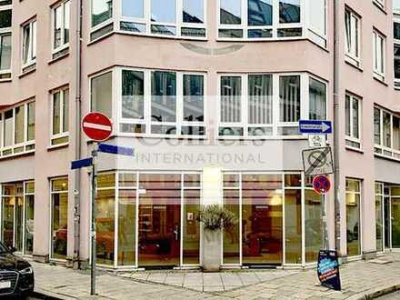 Schwabing – Helle großzügige Einzelhandelsfläche in exponierter Ecklage - COLLIERS