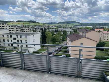 Moderne möblierte 2,5 Zimmer Wohnung über den Dächern von Calw