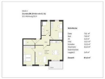 Top Drei-Zimmer-Wohnung