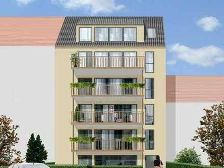 Erstbezug: Vorteilhaft geschnittene Neubauwohnung mit Balkon