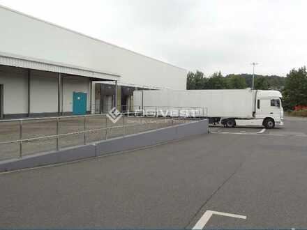 Neubau einer Logistikflächen in Meerane an der A4