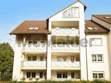 Gepflegt und gut angebunden: 3-Zi.-ETW mit Balkon und Freistellplatz - ideal für Kleinanleger