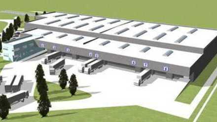 """""""BAUMÜLLER & CO."""" ca. 25.000 m² Logistikfläche"""
