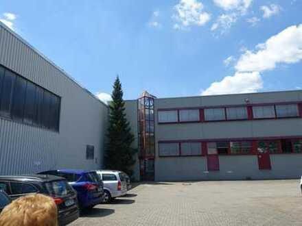 Produktions-/Lagerhallen mit Büro in Winterbach, direkt an der B 29