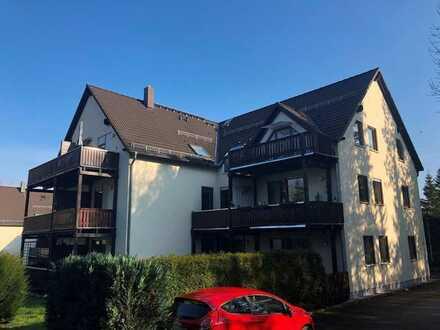 Dachgeschosswohnung mit Balkon und Tiefgaragenstellplatz
