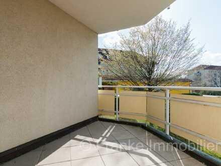Gruna - helle und geräumige 1-Zimmer-Wohnung mit großer Südwest-Loggia